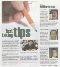 <h5>Honolulu Advertiser</h5><p>College Planning Guide</p>