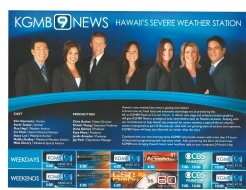 <h5>KGMB 9 News</h5><p>Presentation</p>