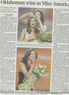 <h5>Honolulu Advertiser</h5><p>Miss Congeniality </p>