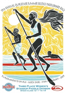 <h5>Summer Solstice Paddleboard Race</h5><p>Third Place</p>