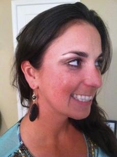 <h5>Miss Alaska 2005</h5><p>Miss Alaska 2005 wears elaborate herringbone weave pearls with lava rock drop earrings. &#039;I just love everything you make!&#039; ~ Becca</p>