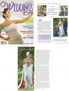 <h5>Hawaii Weddings Magazine: Exclusive Feature</h5><p>Hawaii&#039;s Top Designers</p>
