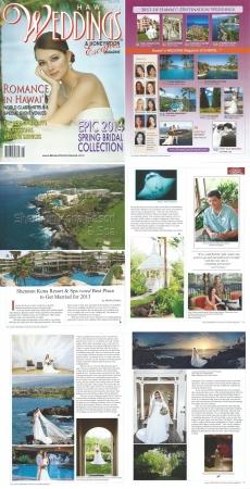 <h5>Hawaii Weddings Magazine: Preferred Hawaii World Class Resorts</h5><p>The Sheraton Kona Resort &amp; Spa</p>