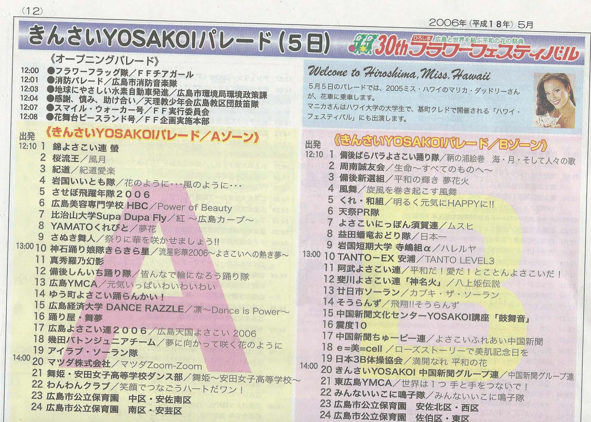 Japanese Newspaper: Hiroshima