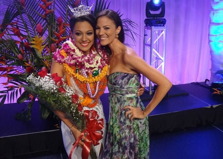 Stephanie Steuri is Miss Hawaii 2014! Her mother was Miss Maui 1977