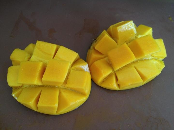 mango-diced