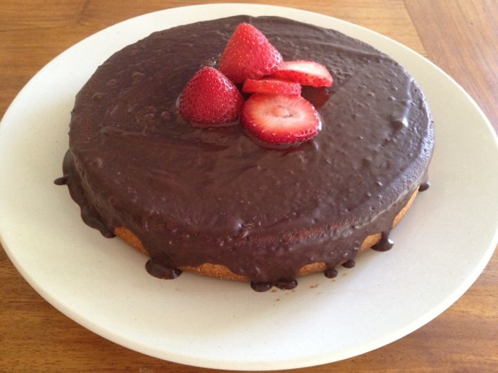 Chestnut cake with Chocolate Frosting