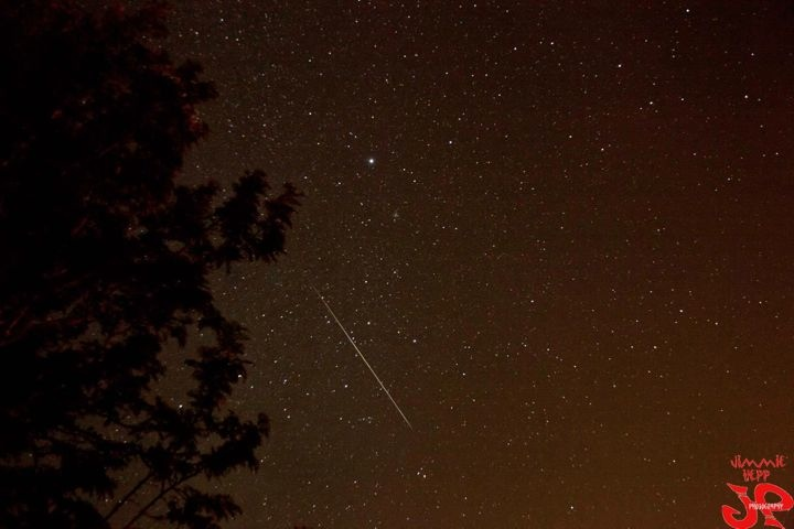 PC: Jimmie Hepp / Perseid Shower as viewed from Maui