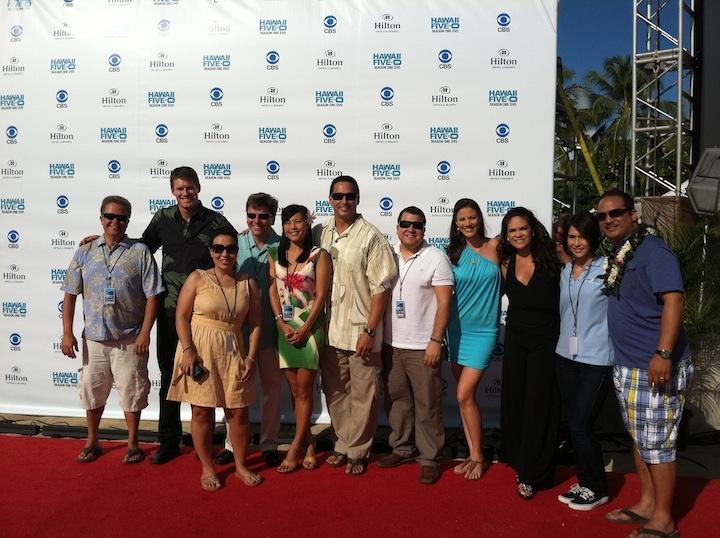 The Hawaii News Now crew