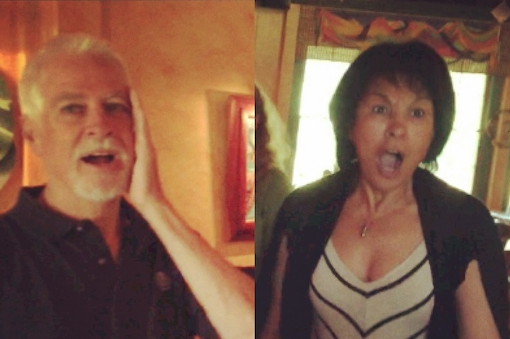 mom and dad surprise