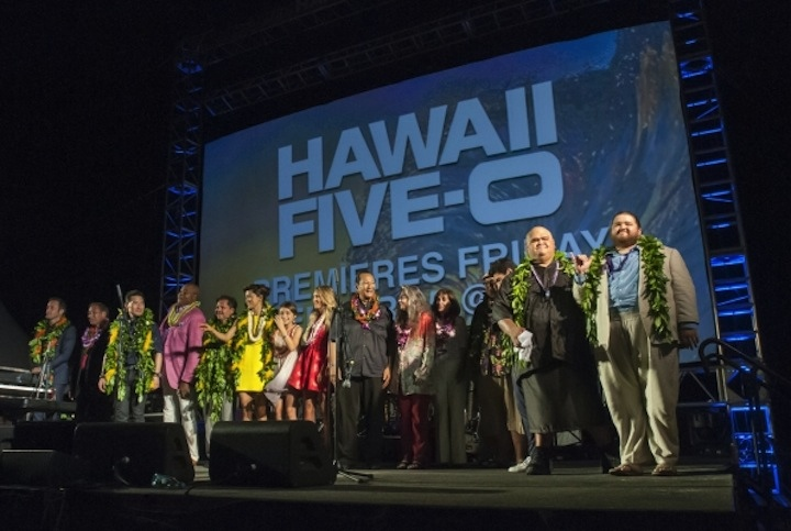 Hawaii Five-0 Ceremony - Season 6 Premiere