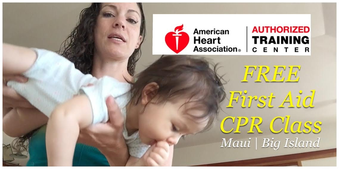 Free Maui County Big Island Oahu Cpr Aed Certification Course